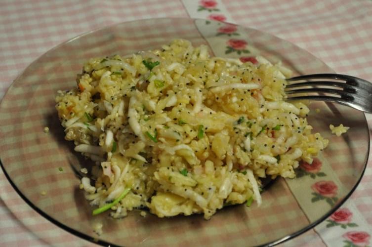 Salata de telina cu mar si quinoa