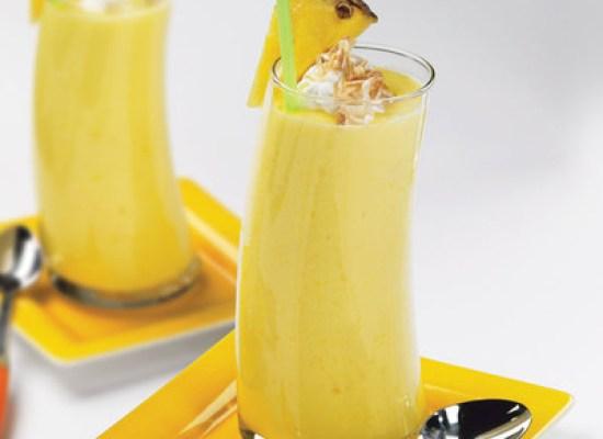Smoothie de ananas