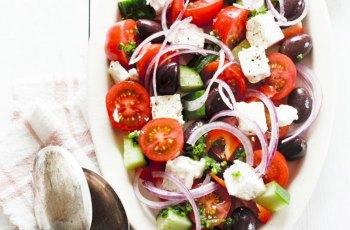 Reteta salata greceasca