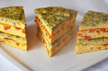 Tort aperitiv din omleta (Caietul cu retete)