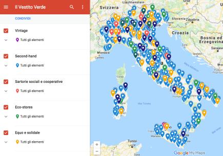 Mappa interattiva de Il Vestito Verde