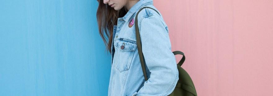 abiti moda sostenibile jeans