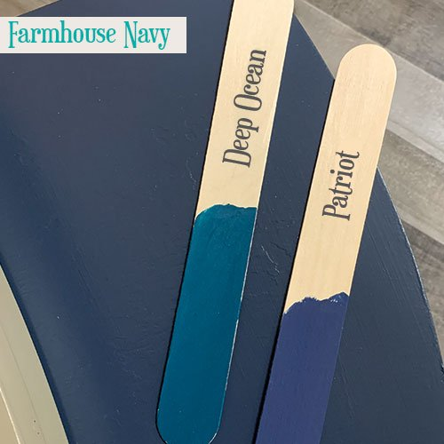 Farmhouse Navy Sticks