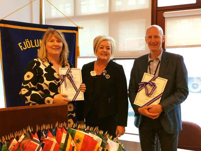 Lions Club of Iceland Donates Two OCT Eye Scanning Cameras