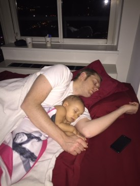Sleeping with Baby