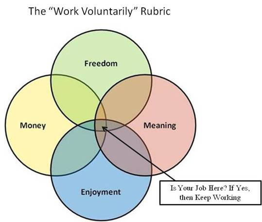 The Work Voluntarily Rubric