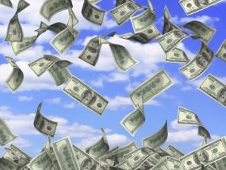 Cash Falling