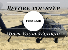 Before You Step First Look Where Youre Standing