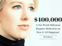 $400,000: A Net Worth Milestone Requires Reflection on How it All Happened