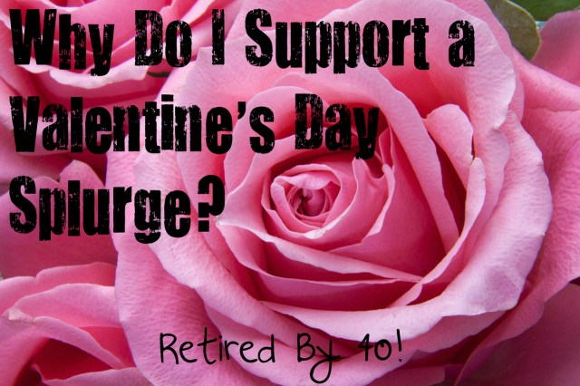 Why Do I Support A Valentine's Day Splurge?  Because It Makes Me Happy, and Happiness Is Good for the Soul!