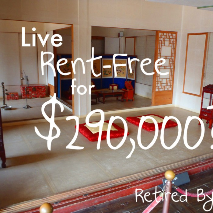 Rent-Free for $290,000?