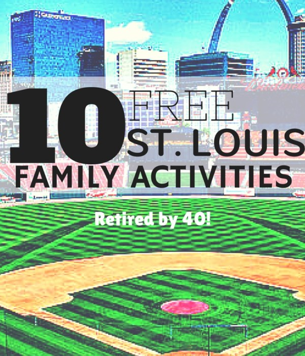 10 Free Family Activities in St. Louis