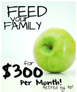 Feed Your Family for $300 a month