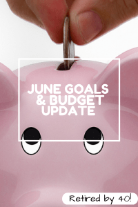 June Goals And Budget Update