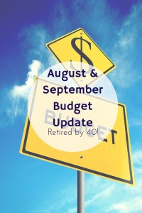 August & September Budget Update Optimized
