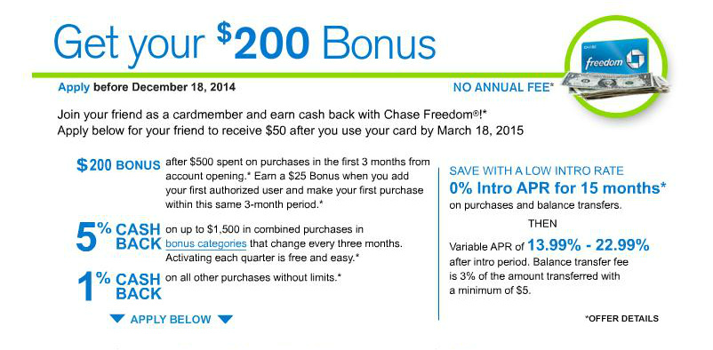 Get  $200 Bonus From Chase + 5% Cash Back for a Limited Time!