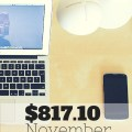 I made $817.10 in blogging income in November - a number I'm super happy with! Get the low down on how I earned it, what my page views were, and my goals for December!