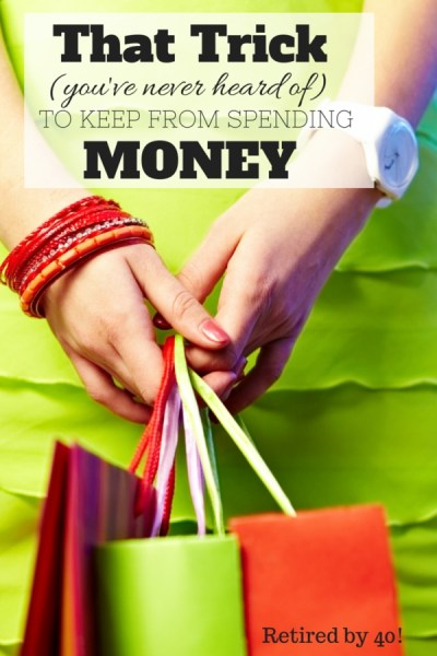 Did you know that your smartphone can help you keep from spending money with that trick you've never heard of to keep from spending money?  It's simple, it's quick, and you NEED to know this!