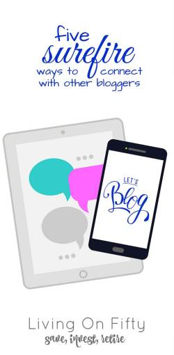 You NEED to connect with other bloggers for support, promotion, and just to have someone you know at blogging conferences! Find out how to do it properly!