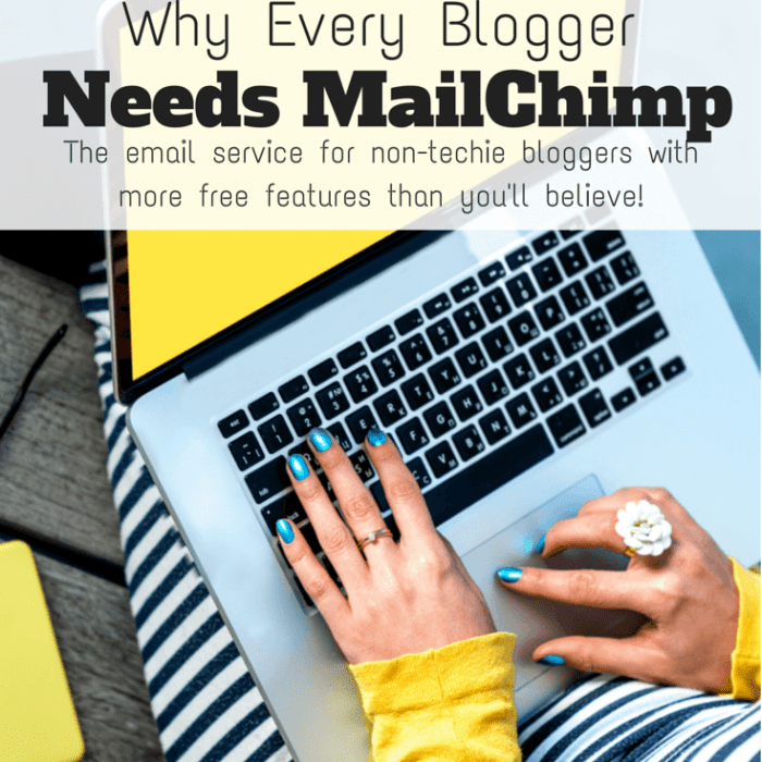 Why Every Blogger Needs Mailchimp