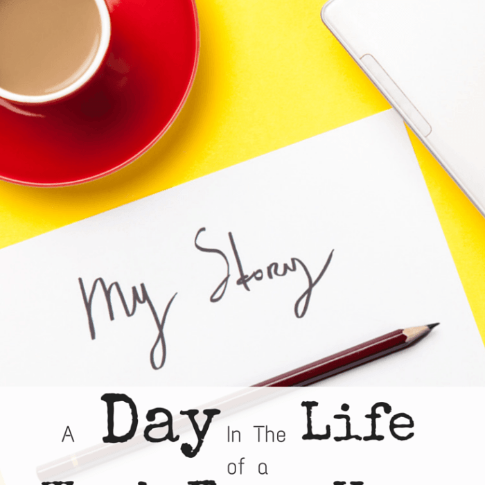 A Day In The Life of A Work From Home Mom