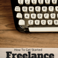 Have you ever wanted a career as a freelancer writer for blogs? Then you need to read this: How To Get Started Freelance Writing for Blogs