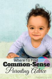Where To Find Common Sense Parenting Advice