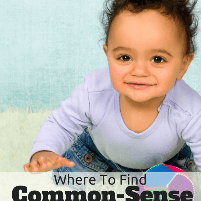 Where To Find Common Sense Parenting Answers