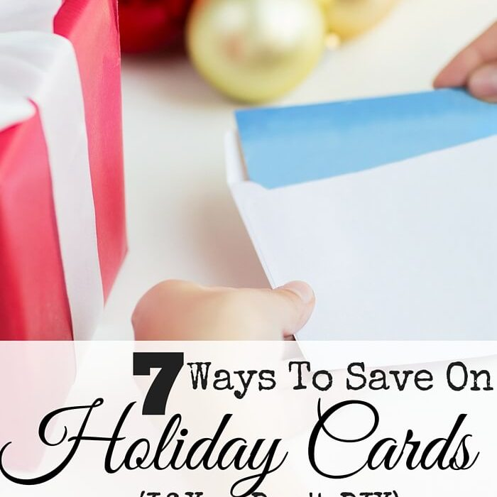 7 Ways To Save On Holiday Cards (If You Don't DIY)