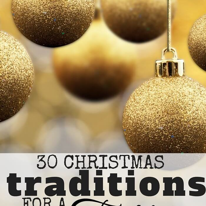 30 Christmas Traditions For A Tight Budget