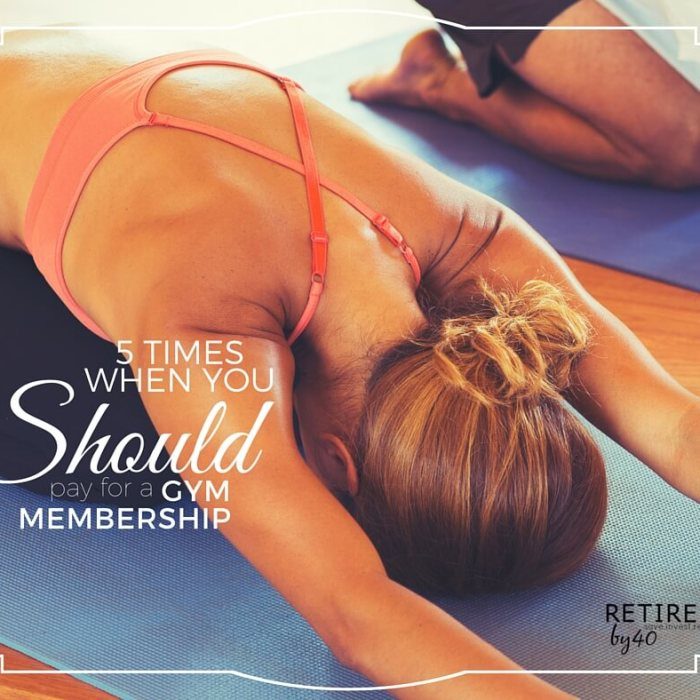 5 Times When You SHOULD Pay For A Gym Membership