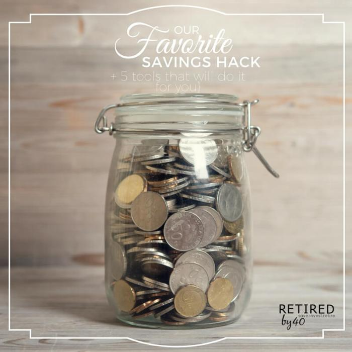 Our Favorite Savings Hack {Plus 5 Tools That Will Do It For You}