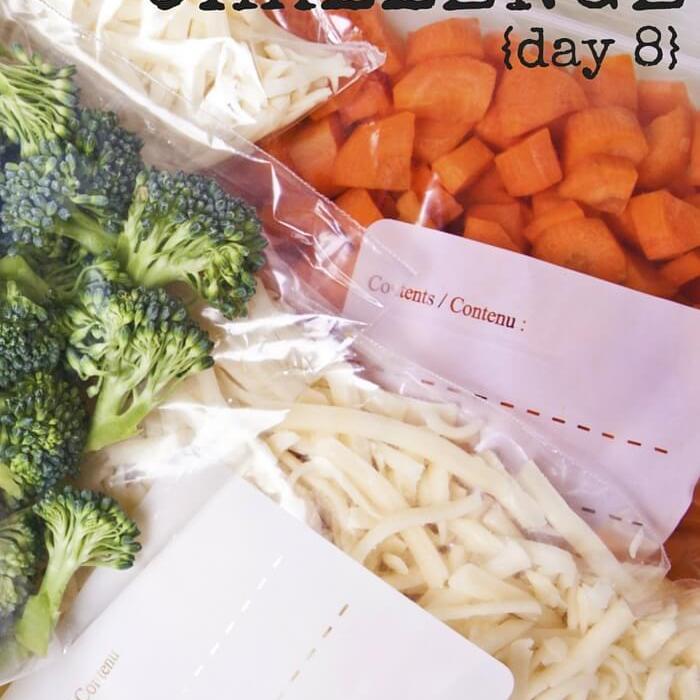 Empty The Freezer Challenge {Day 8}