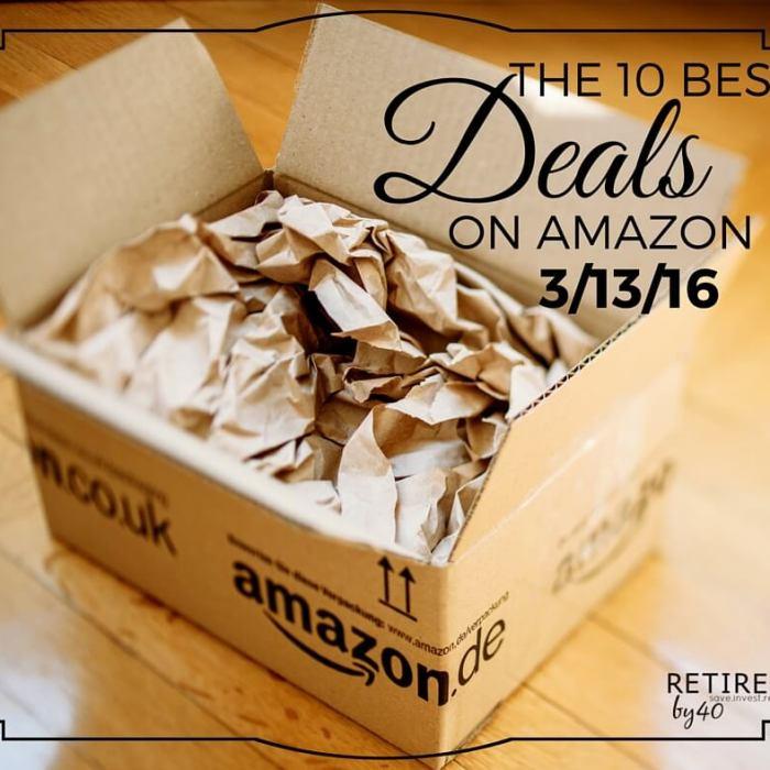 Best Amazon Deals 3/13/16