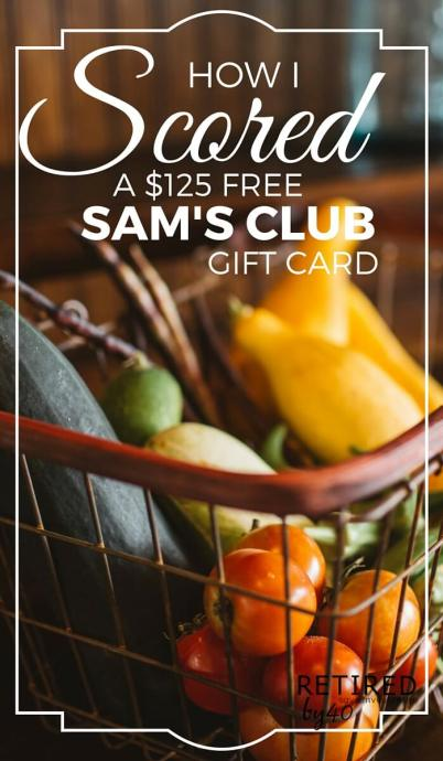 Still on the fence about Swagbucks? Here's a quick victory story: a $125 Free Sam's Club Gift card in just one month - without lifting a finger!