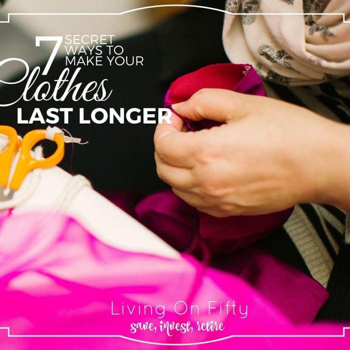 7 Secret Ways to Make Your Clothes Last Longer