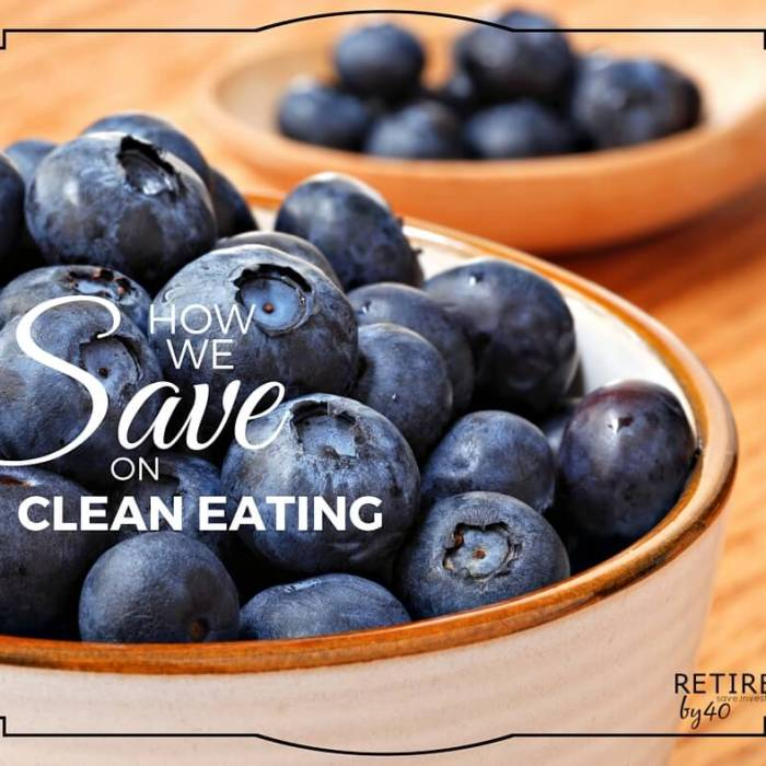 How We Finally Started Eating Clean On a Budget