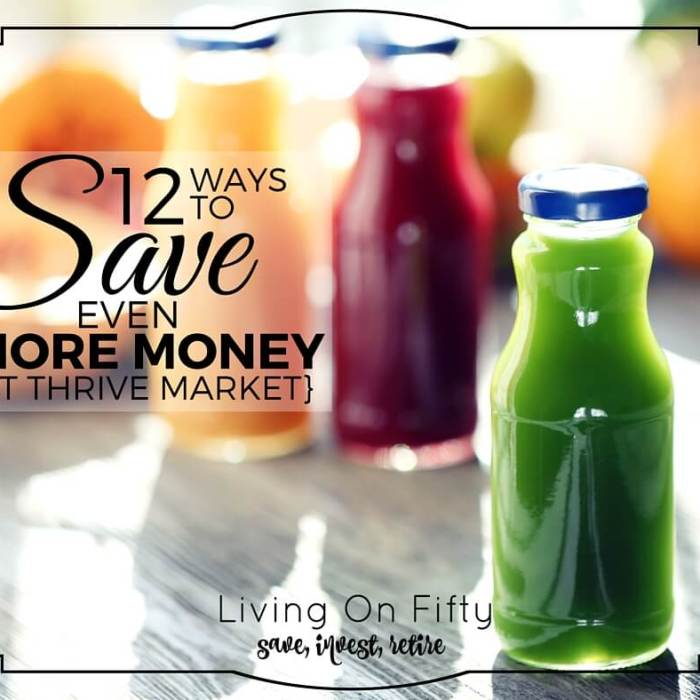 12 Crazy Ways To Save even MORE Money at Thrive Market
