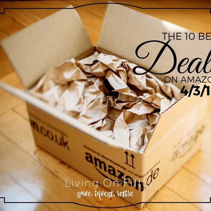 Best Amazon Deals 4/3/16