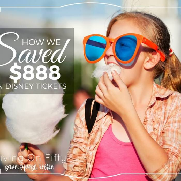 the Happiest Place On Earth: How We Saved 45% on Disney Tickets