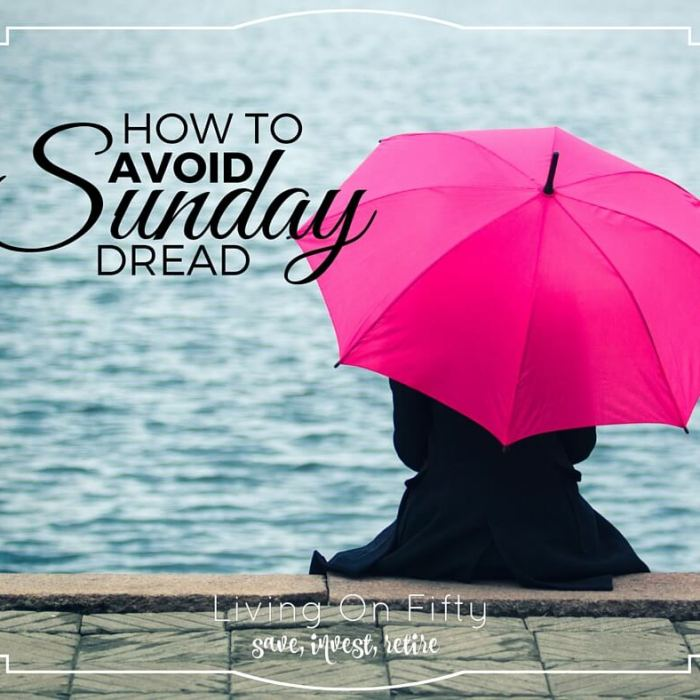 When Sunday Is Miserable….