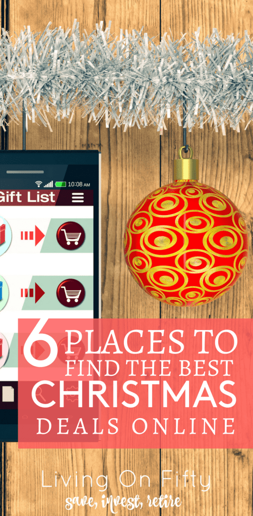 My world in yours: here are my 6 favorite places where to find the best Christmas deals for the upcoming holiday!
