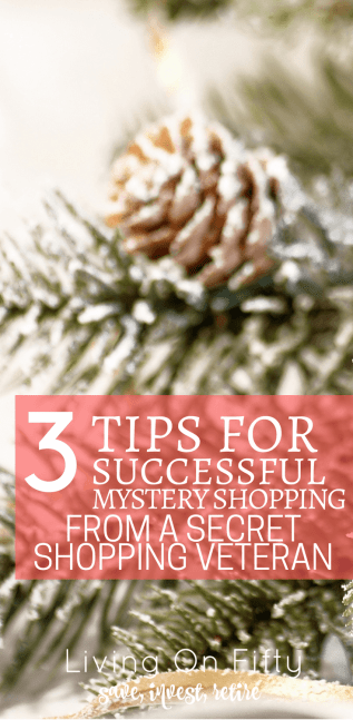 I've been mystery shopping for 3 years.  Here are my best tips for successful secret shops - plus, getting the most return for your time!