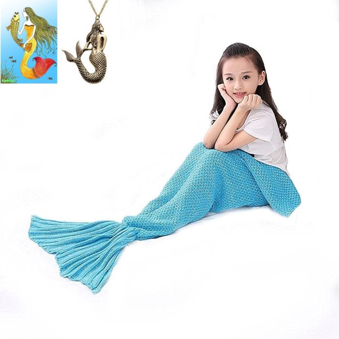 Mermaid Tail Blankets $19.88 Shipped!  (Regularly $145.00)
