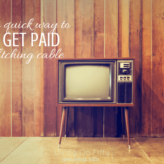 Here's a Quick Way to Make Money Ditching Cable