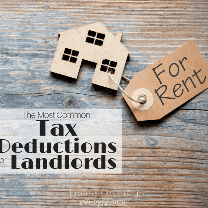 The Most Common Tax Deductions for Landlords