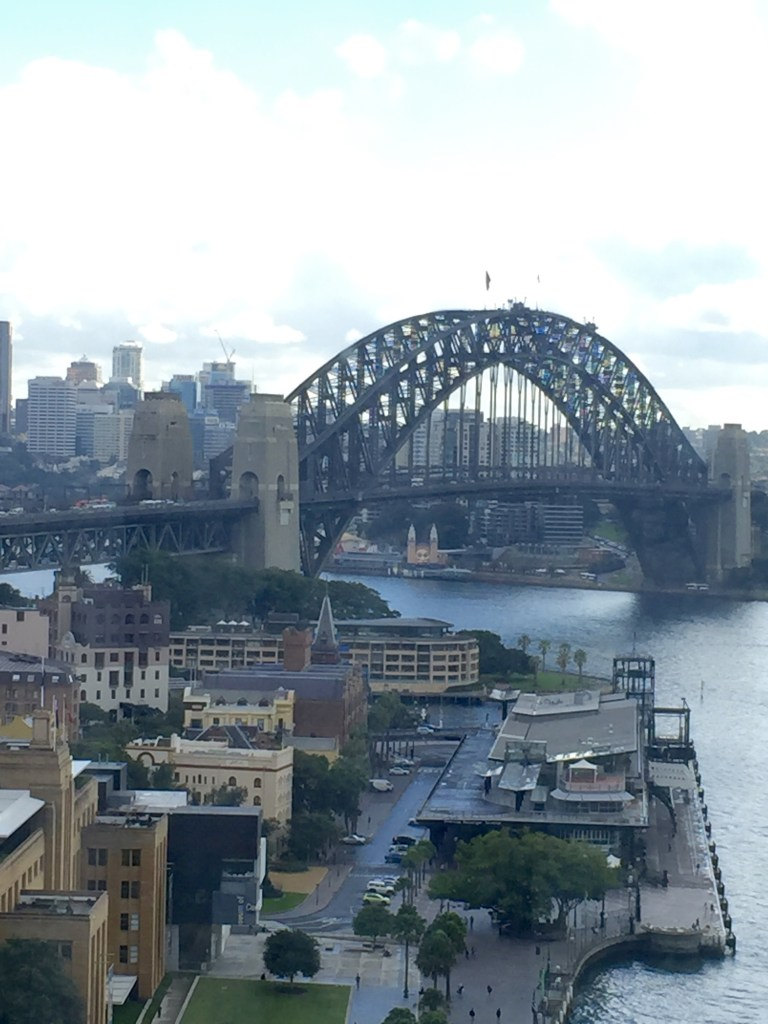 Sydney Harbour Bridge From Our Room Window