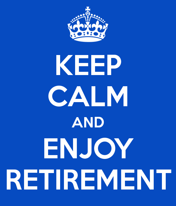 Retirement sentiments 1