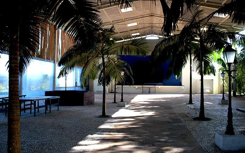 centro de retiros salão principal