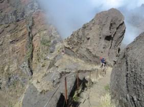 Pico do Arieiro nach Pico Ruivo